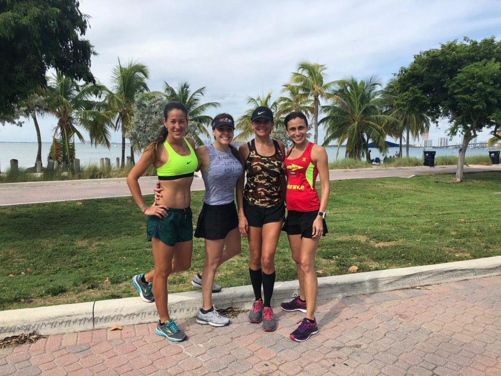 Rosmary Rodríguez, Natali Rodríguez, Taliana Mendoza y ,Yenny Morales presentes en el maratón de Washington/Rosmary Rodríguez