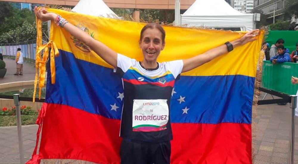 """""""Arepita"""" Rodríguez, una de las mejores fondistas de Venezuela"""