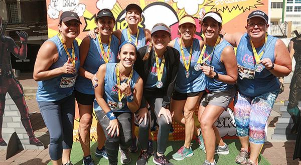 El Festival Run incluyó varias modalidades y participantes de todo el país se hicieron presentes en Las Mercedes