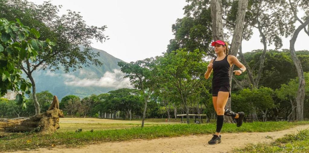 Correr le permite retarse en cada entrenamiento