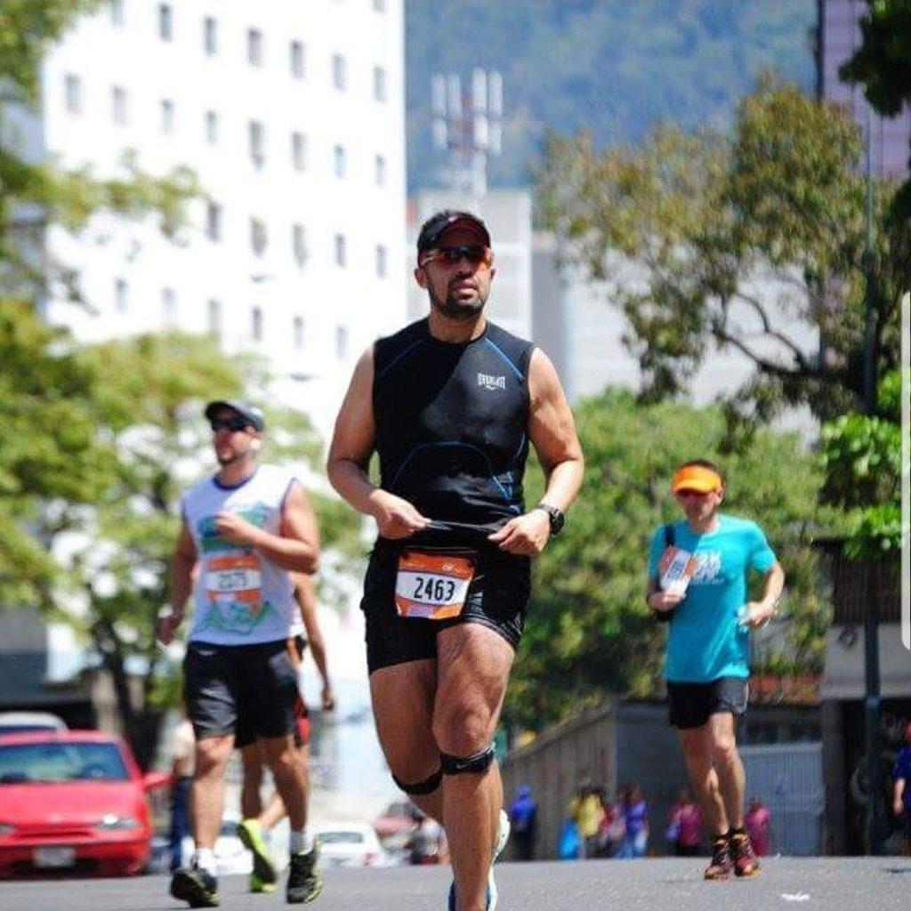 Wilhenger Vera comenzó a correr en el año 2002 para bajar de peso