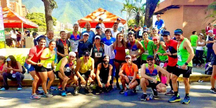 El club de corredores 4 Elementos fue uno de los presentes en La Media/Cortesía