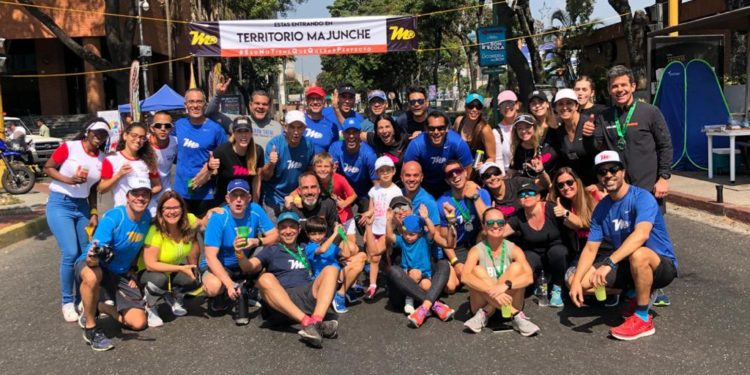 Majunche Runners en su territorio/Cortesía